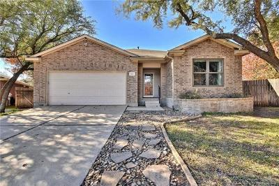 Cedar Park Single Family Home Pending - Taking Backups: 1607 Kendall Ct