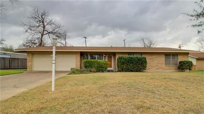 Single Family Home For Sale: 1806 Rogge Ln