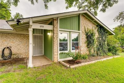 Austin Single Family Home For Sale: 6707 Colony Park Cv