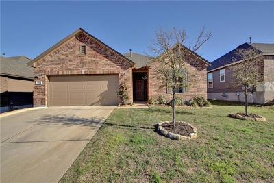 Round Rock Single Family Home For Sale: 5820 Sardinia Dr