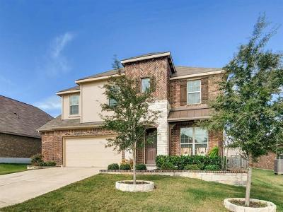 Leander Single Family Home For Sale: 1025 Hartman Dr