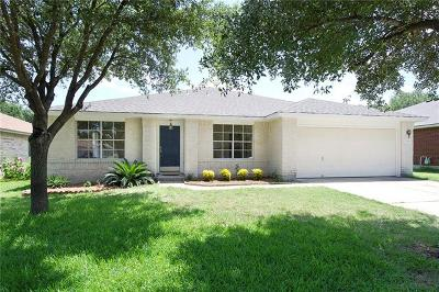 Leander Single Family Home For Sale: 17515 Port Hood Dr