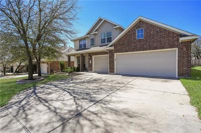 Leander Single Family Home For Sale: 2501 Grapevine Canyon Trl