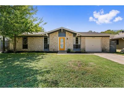 Austin Single Family Home For Sale: 2601 McGregor Dr