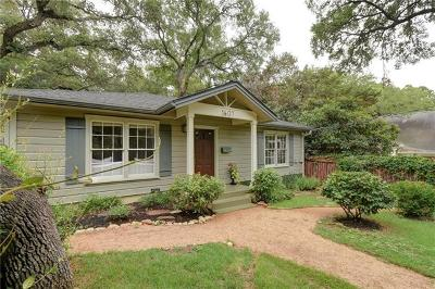 Travis County Single Family Home For Sale: 1607 Exposition Blvd