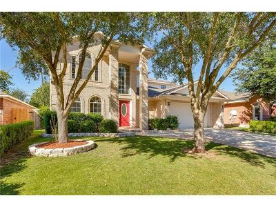 Round Rock Single Family Home For Sale: 1540 Lorson Loop