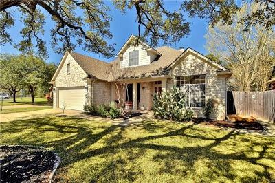 Travis County Single Family Home Pending - Taking Backups: 4508 Eagles Landing Dr