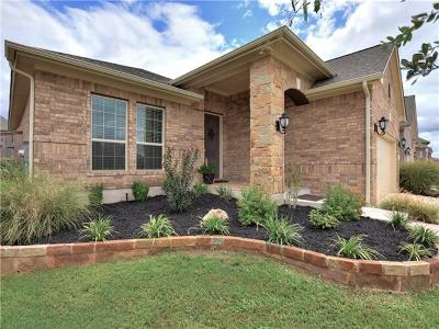 Leander Single Family Home For Sale: 2924 Scout Pony Dr