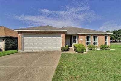 Cedar Park Single Family Home Pending - Taking Backups: 612 Blue Oak Cir