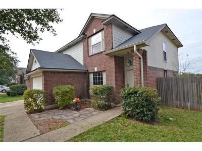 Round Rock Single Family Home Pending - Taking Backups: 17318 Zola Ln