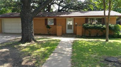 Single Family Home For Sale: 4509 Roundup Trl