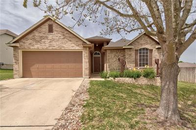 Hutto Single Family Home Pending - Taking Backups: 121 Williams Way