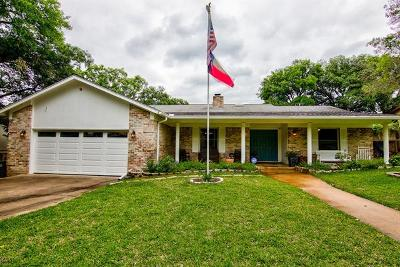 Austin Single Family Home For Sale: 11109 Hidden Bluff Dr