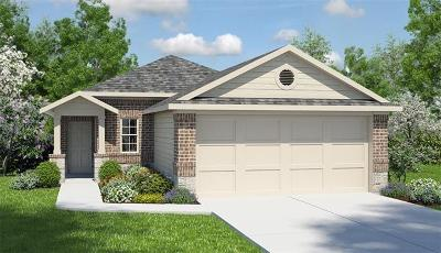 Manor Single Family Home For Sale: 14307 Almodine Rd