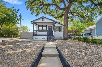 Austin Single Family Home For Sale: 607 W 35th St