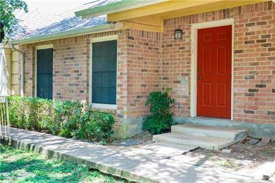 Austin Condo/Townhouse For Sale: 11901 Swearingen Dr #78-O