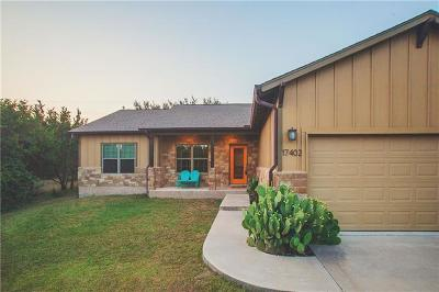 Dripping Springs Single Family Home Pending - Taking Backups: 17402 Deer Creek Skyview Ln