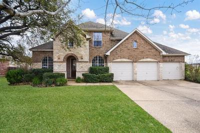 Round Rock Single Family Home For Sale: 821 Folsom Cv