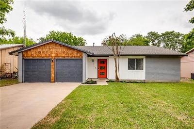 Austin Single Family Home Pending - Taking Backups: 11213 Prairie Dove Cir