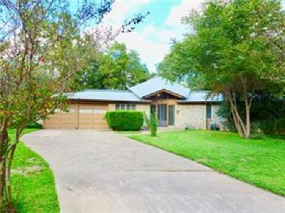 Austin Single Family Home For Sale: 8210 Sandalwood Cv