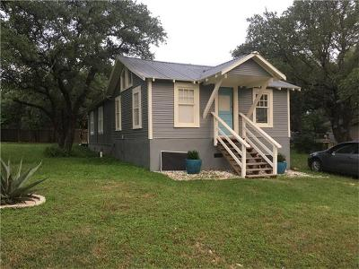 Travis County Single Family Home Pending - Taking Backups: 8811 High Valley Rd