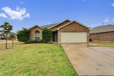 Pflugerville Single Family Home For Sale: 3305 Hawks Swoop Trl