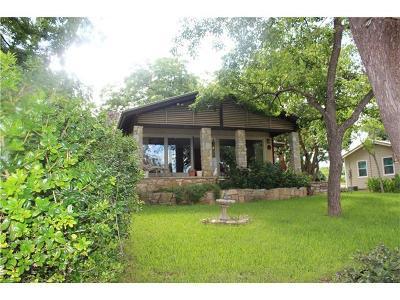Burnet Single Family Home For Sale: 1304 S Lakeside Dr