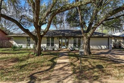 Austin Single Family Home For Sale: 7304 Bucknell Dr
