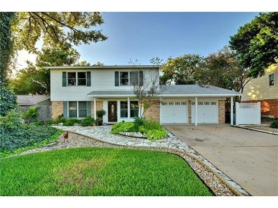 Austin Single Family Home For Sale: 7506 Silvercrest Dr