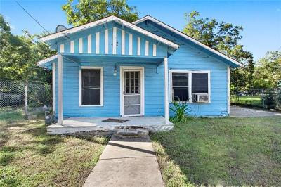 Travis County Single Family Home Pending - Taking Backups: 2517 Francisco St