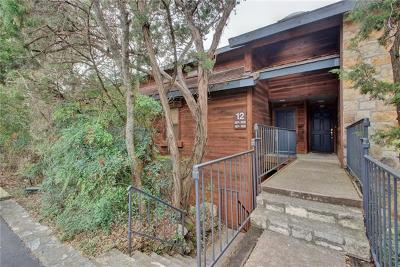 Travis County Condo/Townhouse Pending - Taking Backups: 4711 Spicewood Springs Rd #267