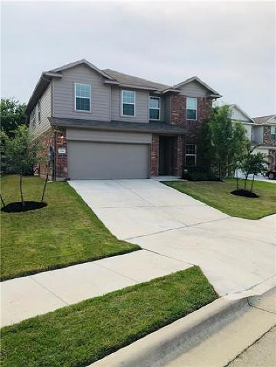 Pflugerville Single Family Home For Sale: 13304 Cantarra Dr