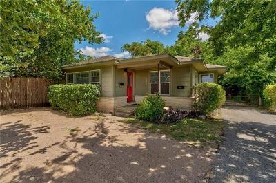 Austin Single Family Home For Sale: 506 W 51st St #A
