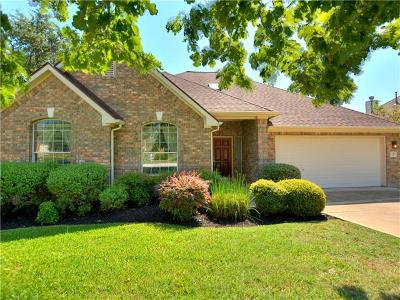 Austin Single Family Home Pending - Taking Backups: 12312 Capitol Saddlery Trl
