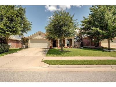 Round Rock Single Family Home Pending - Taking Backups: 814 Centerbrook Pl