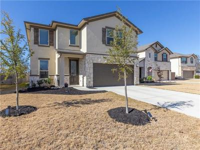 Round Rock Single Family Home For Sale: 5677 Porano Cir
