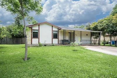 Hays County, Travis County, Williamson County Single Family Home For Sale: 4709 Saguaro Rd