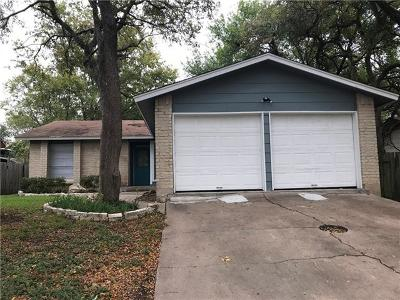 Travis County Single Family Home Pending - Taking Backups: 12713 Lamplight Village Ave