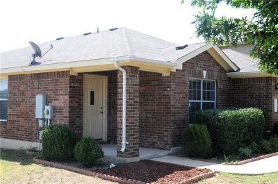 Leander Single Family Home Pending - Taking Backups: 108 Banner Ave