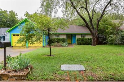 Austin Single Family Home For Sale: 2107 Trede Dr