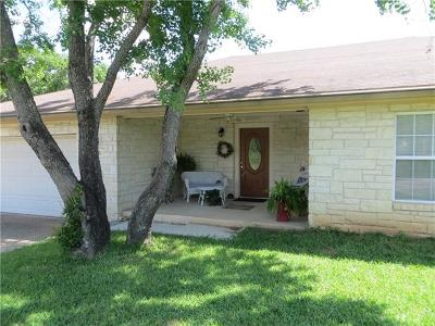 Burnet County Single Family Home For Sale: 153 W Greencastle