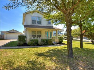 Round Rock Single Family Home For Sale: 2832 Deerfern Ln