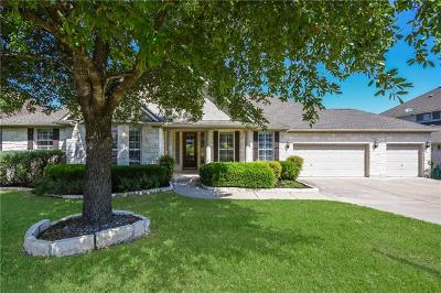 Cedar Park Single Family Home For Sale: 3103 Appennini Way