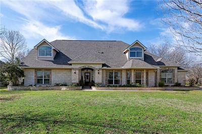 Hutto Single Family Home Pending - Taking Backups: 182 Brushy Creek Trl