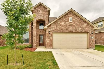 Hutto Single Family Home For Sale: 144 Plantain Dr