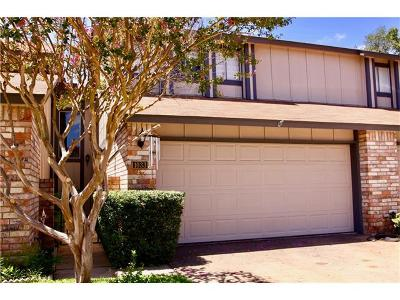 Austin TX Condo/Townhouse For Sale: $182,900
