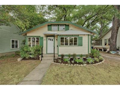 Austin Single Family Home For Sale: 4530 Duval St