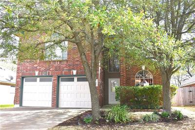 Cedar Park Single Family Home For Sale: 1600 Old Mill Rd