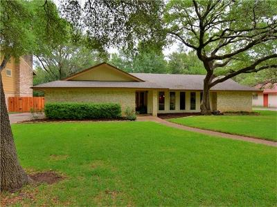Austin Single Family Home For Sale: 11905 Brookwood Cir