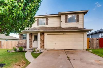 Del Valle Single Family Home Pending - Taking Backups: 7309 Iwanna Dr